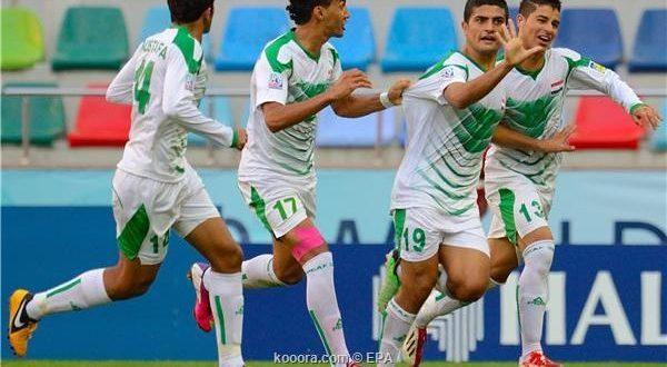 منتخب شباب العراق يستعد لتصفيات المونديال