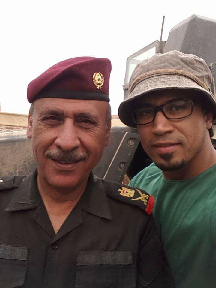 اللواء الركن معن السعدي لايفصلنا عن إحياء الكرامه في مدينة الموصل سوى 400 متر