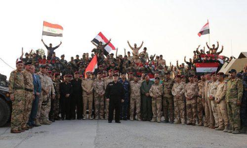 Image result for العبادي يعلن تحرير الموصل