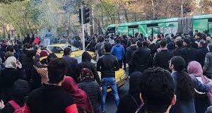 في ايرانمظاهراتالنظام