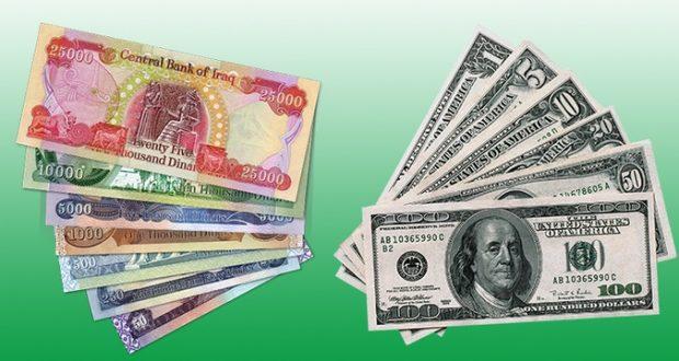 الدولار مقابل الدينار