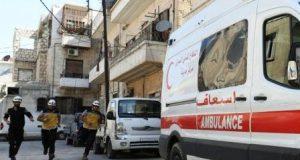 الكلورسيارات اسعافمنظمةالخوذ البيضاءسوريا