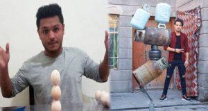 في البيض