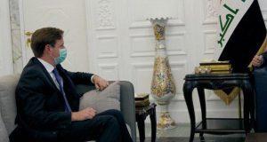 مع السفير البريطاني