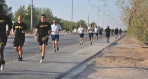 رياضي بشوارع محافظا الانبار.